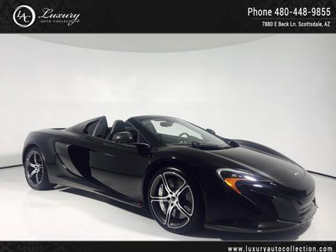 2016 McLaren 650S Spider for sale in Scottsdale, AZ