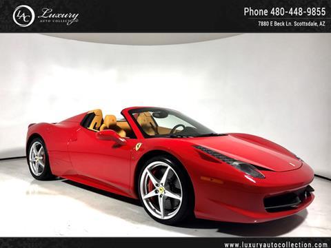 2015 Ferrari 458 Spider for sale in Scottsdale, AZ