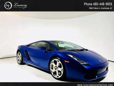 2004 Lamborghini Gallardo for sale in Scottsdale, AZ