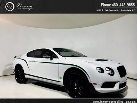 2015 Bentley Continental GT3-R for sale in Scottsdale, AZ