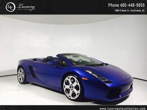 2007 Lamborghini Gallardo for sale in Scottsdale, AZ