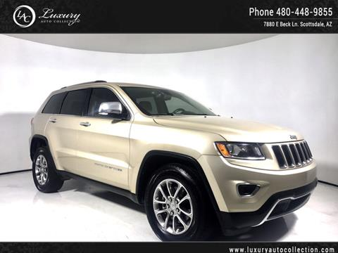 2015 Jeep Grand Cherokee for sale in Scottsdale, AZ