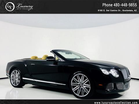 2014 Bentley Continental For Sale In Scottsdale, AZ