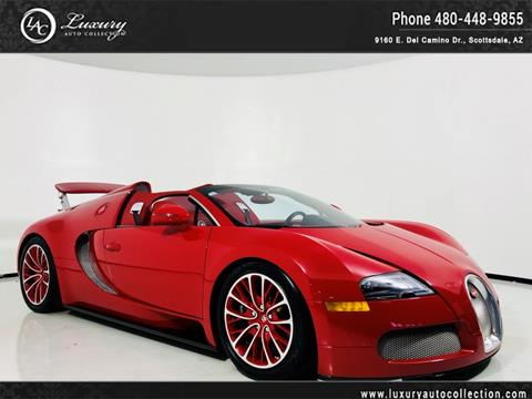 2012 Bugatti Veyron 16.4 for sale in Scottsdale, AZ