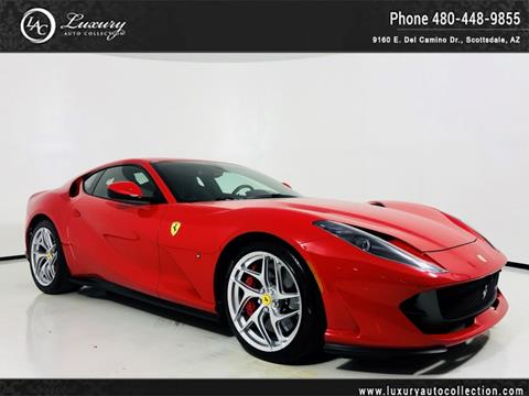 2018 Ferrari 812 Superfast For Sale In Scottsdale Az