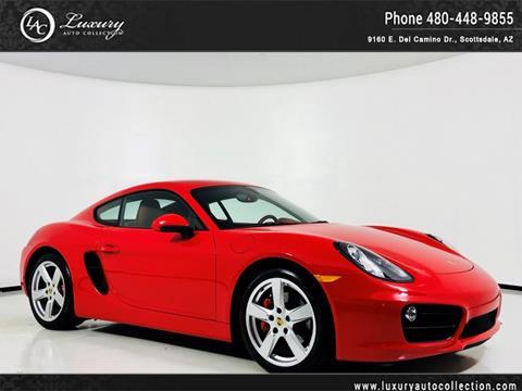 2015 Porsche Cayman for sale in Scottsdale, AZ