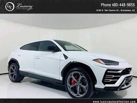 used lamborghini urus for sale in arizona - carsforsale®
