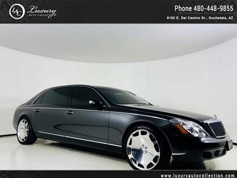 2004 Maybach 62 for sale in Scottsdale, AZ