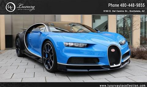 2018 Bugatti Chiron for sale in Scottsdale, AZ