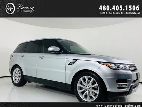 Land Rover Scottsdale >> 2014 Land Rover Range Rover Sport For Sale In Scottsdale Az