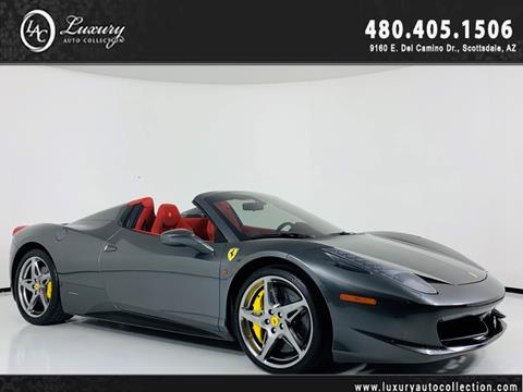2014 Ferrari 458 Spider for sale in Scottsdale, AZ