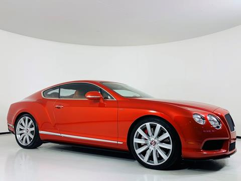 2015 Bentley Continental for sale in Scottsdale, AZ