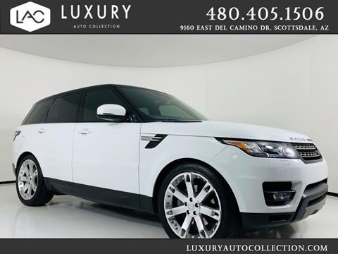 Range Rover Scottsdale >> 2014 Land Rover Range Rover Sport For Sale In Scottsdale Az