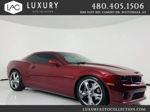 2011 Chevrolet Camaro for sale at Luxury Auto Collection in Scottsdale AZ
