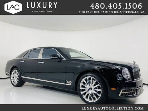 2017 Bentley Mulsanne for sale at Luxury Auto Collection in Scottsdale AZ