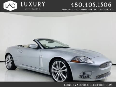 2007 Jaguar XK-Series for sale at Luxury Auto Collection in Scottsdale AZ