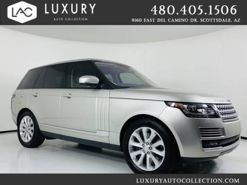 2016 Land Rover Range Rover for sale at Luxury Auto Collection in Scottsdale AZ