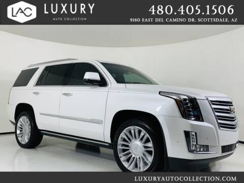 2018 Cadillac Escalade for sale at Luxury Auto Collection in Scottsdale AZ