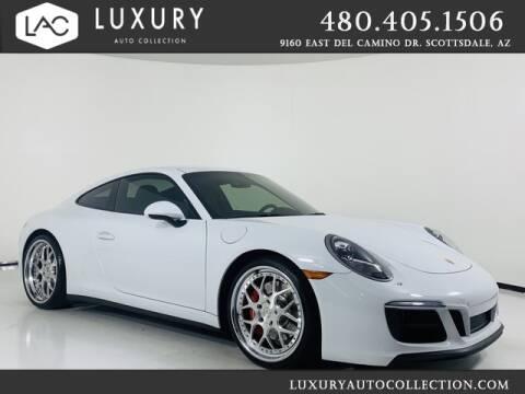 2018 Porsche 911 for sale at Luxury Auto Collection in Scottsdale AZ