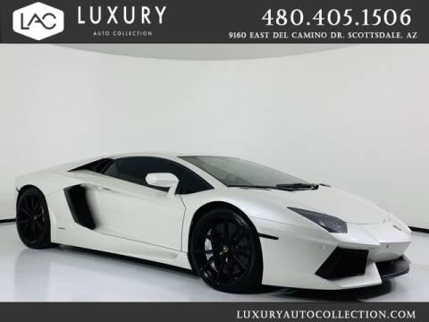 2013 Lamborghini Aventador for sale at Luxury Auto Collection in Scottsdale AZ