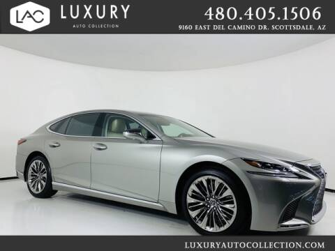2018 Lexus LS 500h for sale at Luxury Auto Collection in Scottsdale AZ