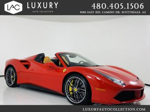 2017 Ferrari 488 Spider for sale at Luxury Auto Collection in Scottsdale AZ