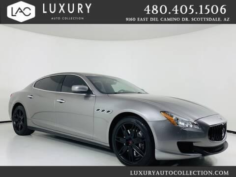 2015 Maserati Quattroporte for sale at Luxury Auto Collection in Scottsdale AZ