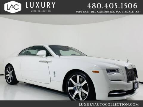 2019 Rolls-Royce Wraith for sale at Luxury Auto Collection in Scottsdale AZ