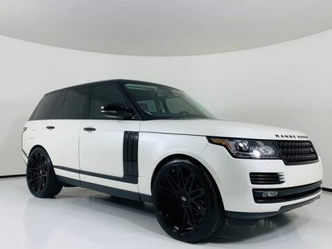 2013 Land Rover Range Rover for sale at Luxury Auto Collection in Scottsdale AZ