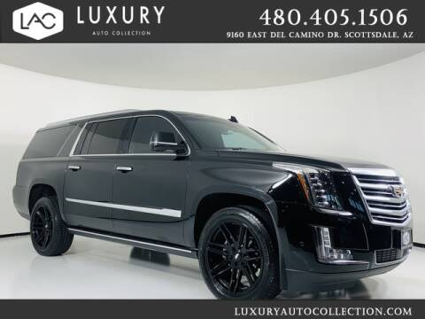 2018 Cadillac Escalade ESV for sale at Luxury Auto Collection in Scottsdale AZ