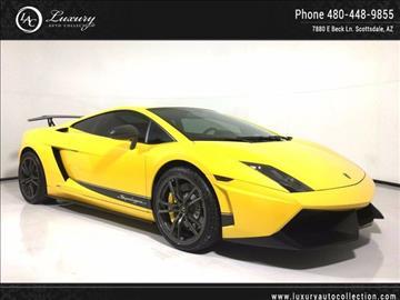2011 Lamborghini Gallardo for sale in Scottsdale, AZ