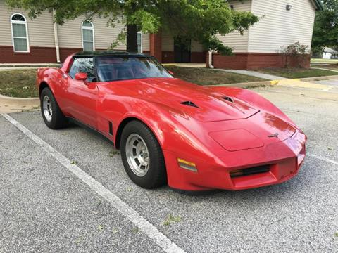 1981 Chevrolet Corvette for sale in Conyers, GA