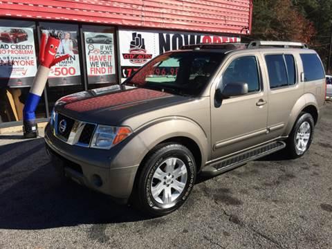 2007 Nissan Pathfinder for sale in Jonesboro, GA