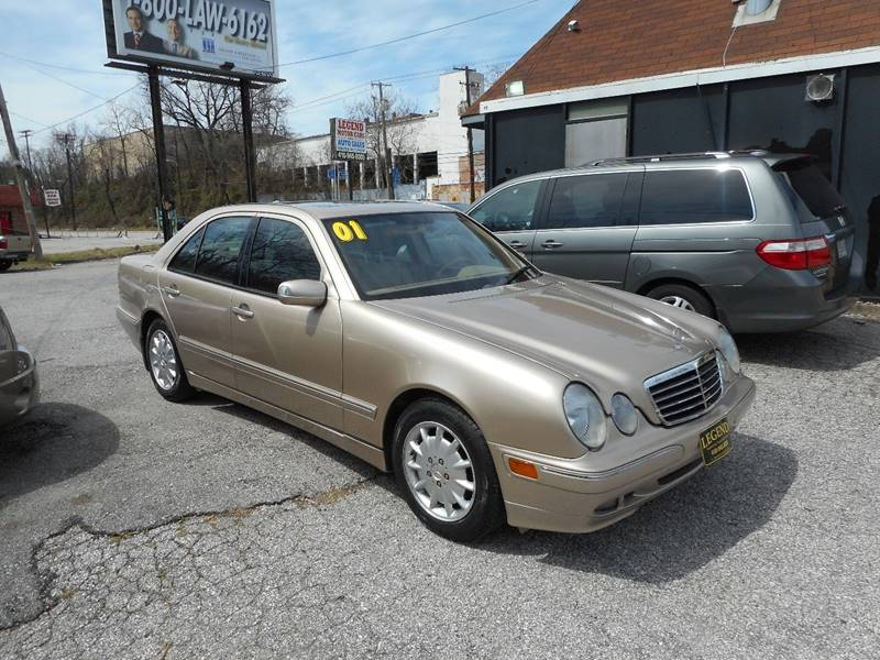 2001 mercedes benz e class e 320 4dr sedan in baltimore md for Mercedes benz in baltimore md