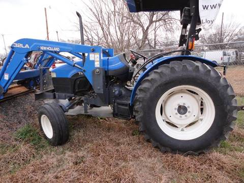 2001 New Holland tn75