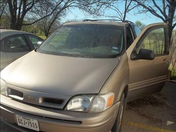 1999 Oldsmobile Silhouette for sale in Greenville, TX