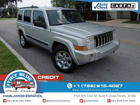 2007 Jeep Commander for sale in Doral, FL