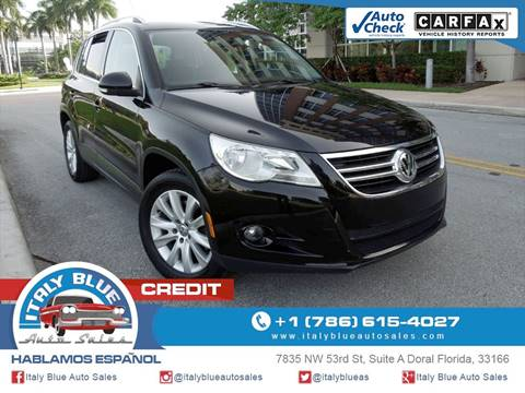 2011 Volkswagen Tiguan for sale in Doral, FL
