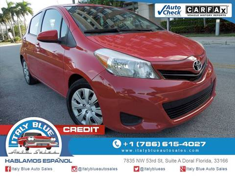 2013 Toyota Yaris for sale in Doral, FL