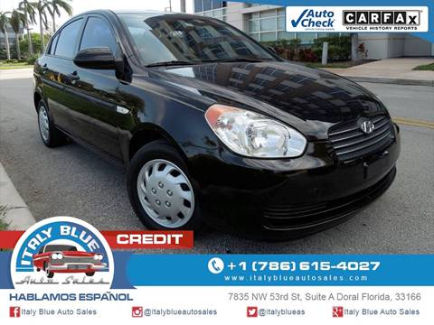 2007 Hyundai Accent for sale in Doral, FL
