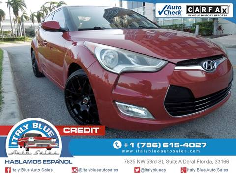 2012 Hyundai Veloster for sale in Doral, FL