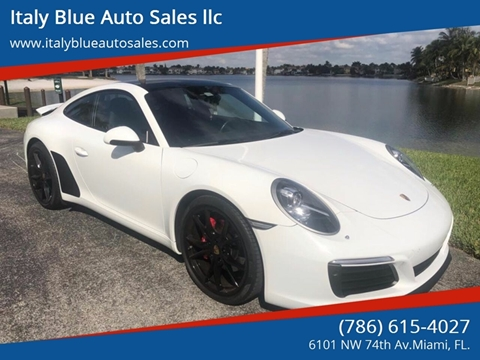 2017 Porsche 911 for sale in Miami, FL