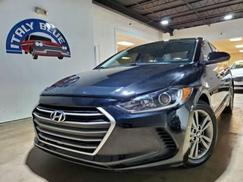 2018 Hyundai Elantra for sale at Italy Blue Auto Sales llc in Miami FL