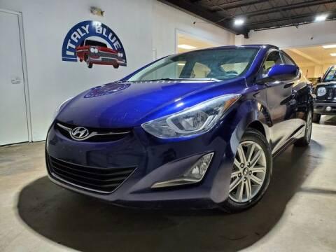 2014 Hyundai Elantra for sale at Italy Blue Auto Sales llc in Miami FL