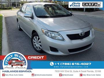2010 Toyota Corolla for sale in Doral, FL