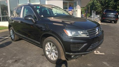 2017 Volkswagen Touareg for sale in Rensselaer, NY