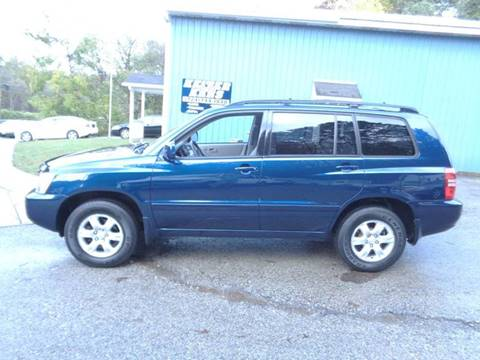 2003 Toyota Highlander for sale in Trafford, PA