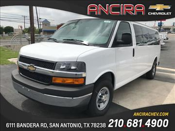 2017 Chevrolet Express Passenger for sale in San Antonio, TX