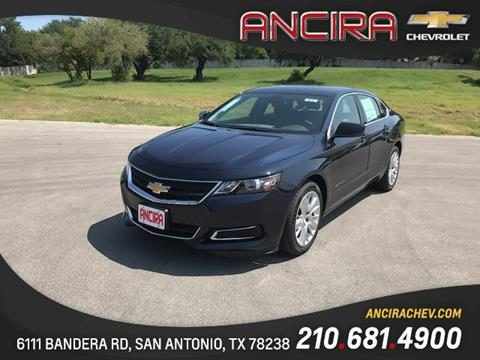 2018 Chevrolet Impala for sale in San Antonio, TX