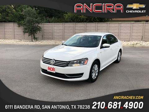2015 Volkswagen Passat for sale in San Antonio, TX